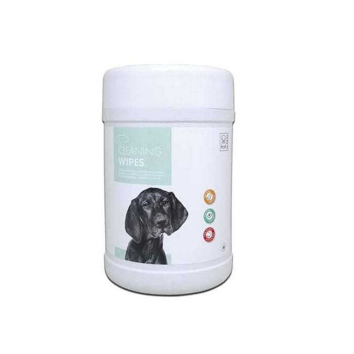 M-Pet Cleaning Wipes for Dogs (80 pcs) - pet-club-india