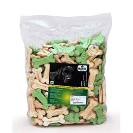 Basil Vegetarian Dog Biscuits 1 kg - pet-club-india