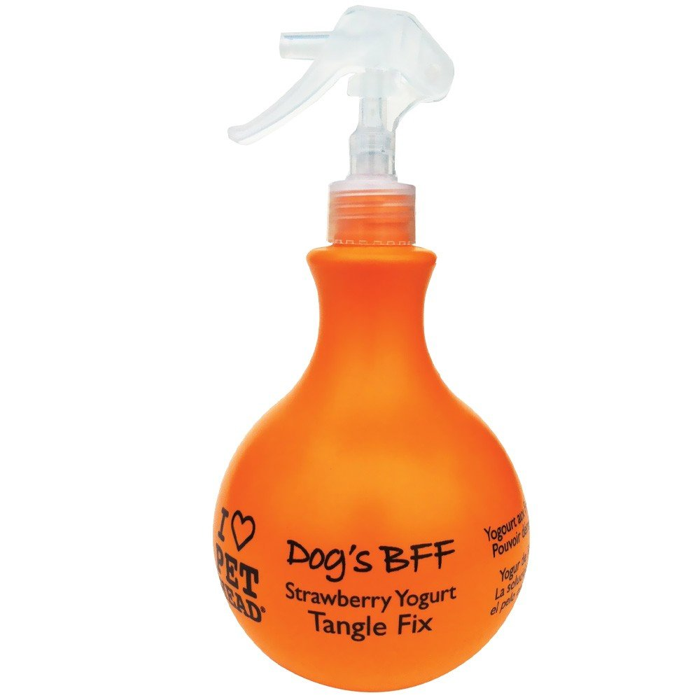 Pet Head Dogs BFF Strawberry Yogurt - Tangling Fix Spray 443 ml - pet-club-india