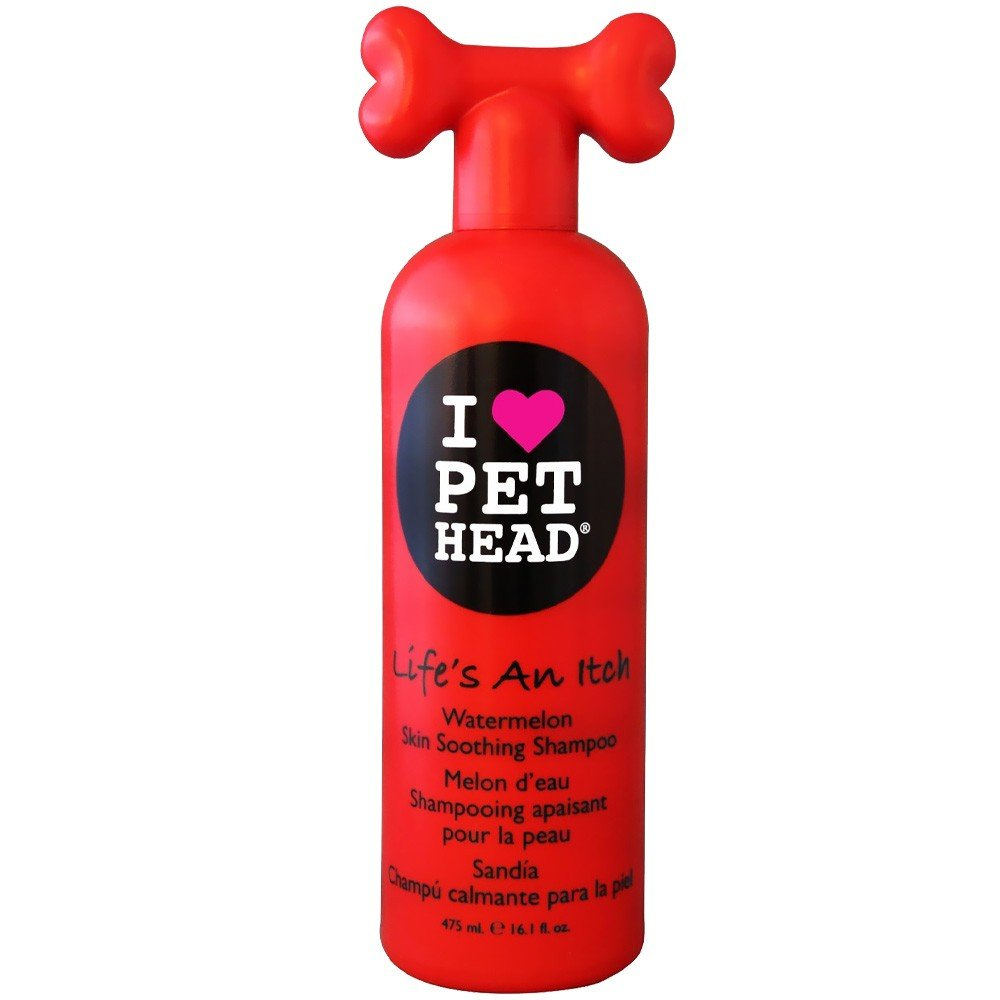 Pet Head Life's an Itch Skin Soothing  Dog Shampoo 475 ml - pet-club-india
