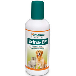 Himalaya Erina-EP Tick and Flea Control Shampoo For Dog & Cats - pet-club-india