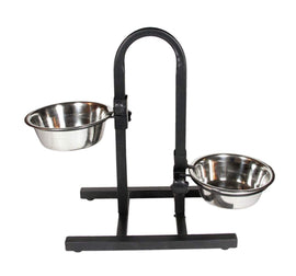 Goofy Tails Premium Food Bowl U Shape Stand For Dog (Medium) - pet-club-india