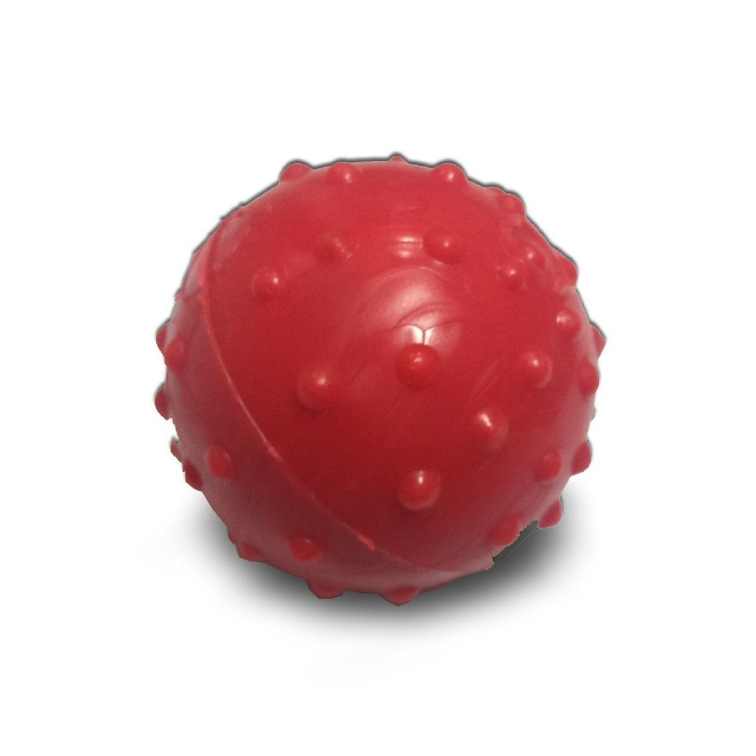 Super Dog Rubber Ball with Bell for Dogs and Cats - pet-club-india