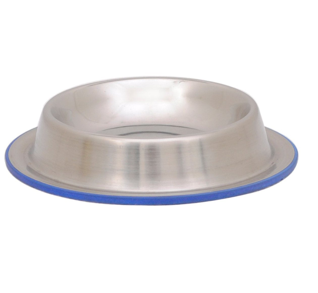 Goofy Tails Stainless Steel No Tip & Anti Skid Food Bowl for Dog - pet-club-india