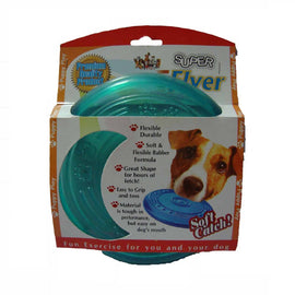 Super Dog Large Flyer Rubber Fetch Toy for Dogs - pet-club-india