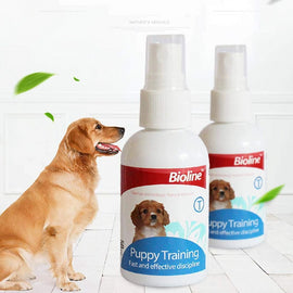 Bioline Puppy Fast and Effective Discipline Dog Training Aid 50ml - pet-club-india