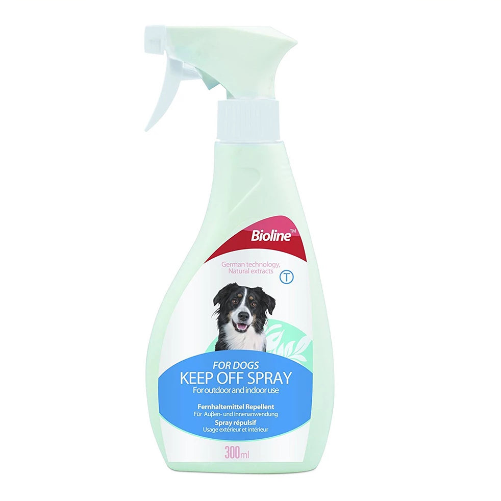 Bioline Keep Off Spray For Dogs 300ml - pet-club-india