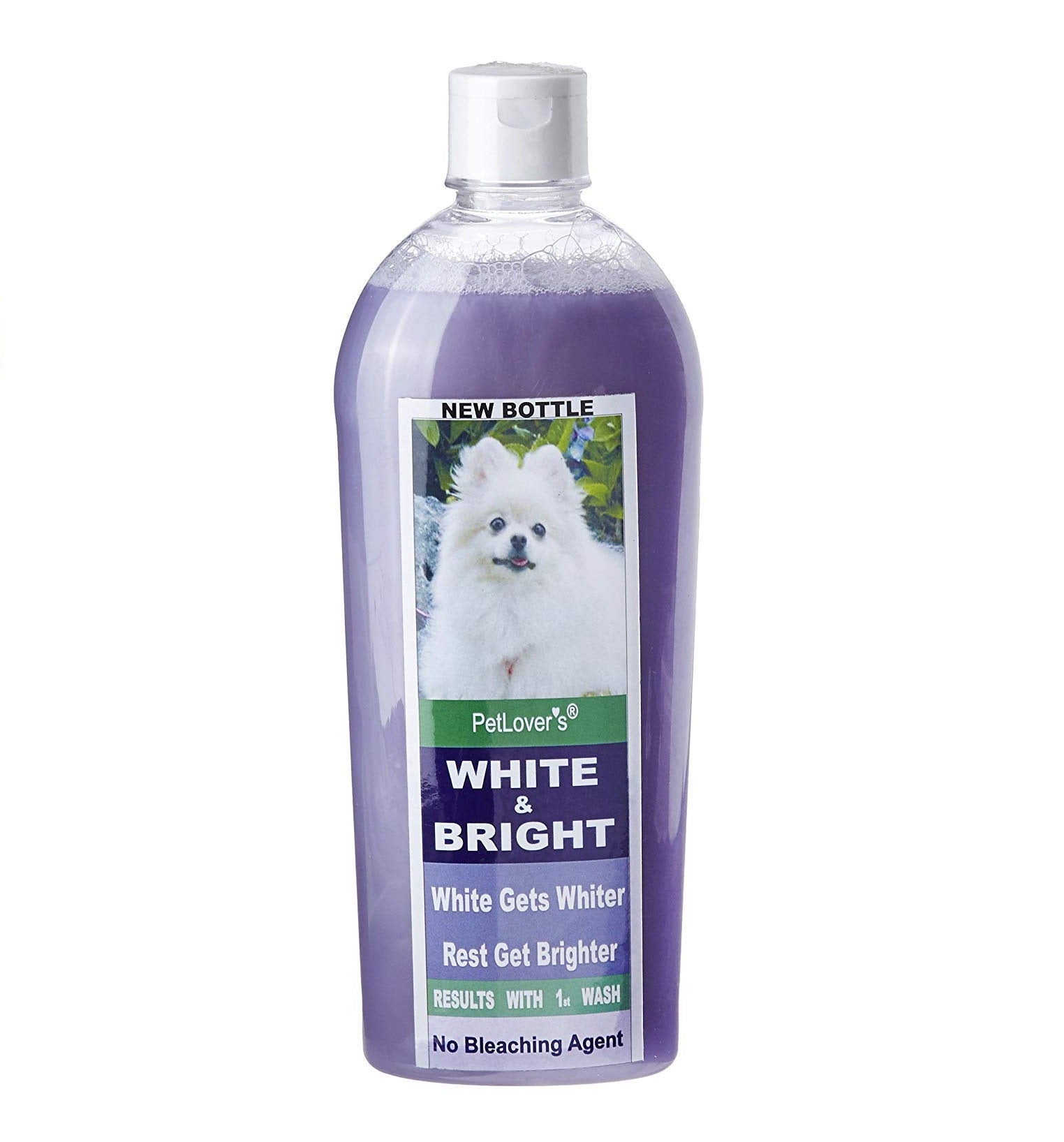 Pet Lovers White and Bright Whitening Dog Shampoo - pet-club-india