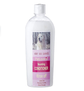 Pet Lovers Rinse Off Dog Conditioner & Shampoo - pet-club-india