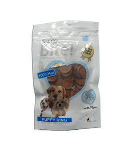 Super Bite Puppy Ring Dog Treat 70 gm - pet-club-india