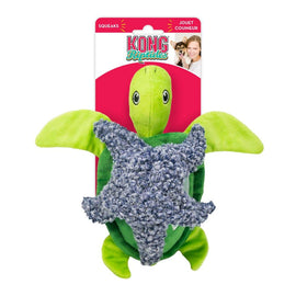 Kong Riptides Turtle Squeaks Large Dog Toy - pet-club-india