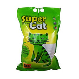 Super Cat Litter Absorbs Odor and Liquid 5 kg - pet-club-india