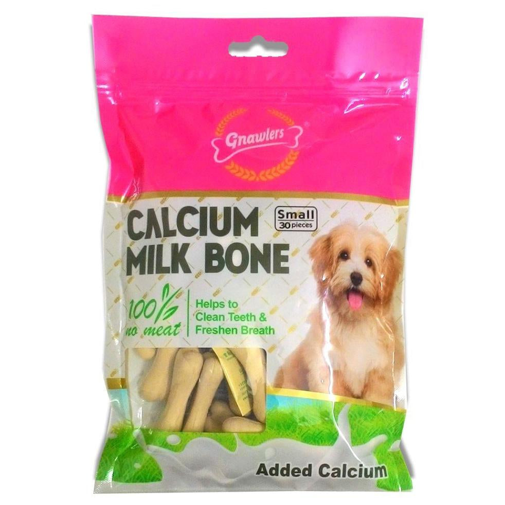 Gnawlers Calcium Milk Bones Dog Treats - Small - pet-club-india