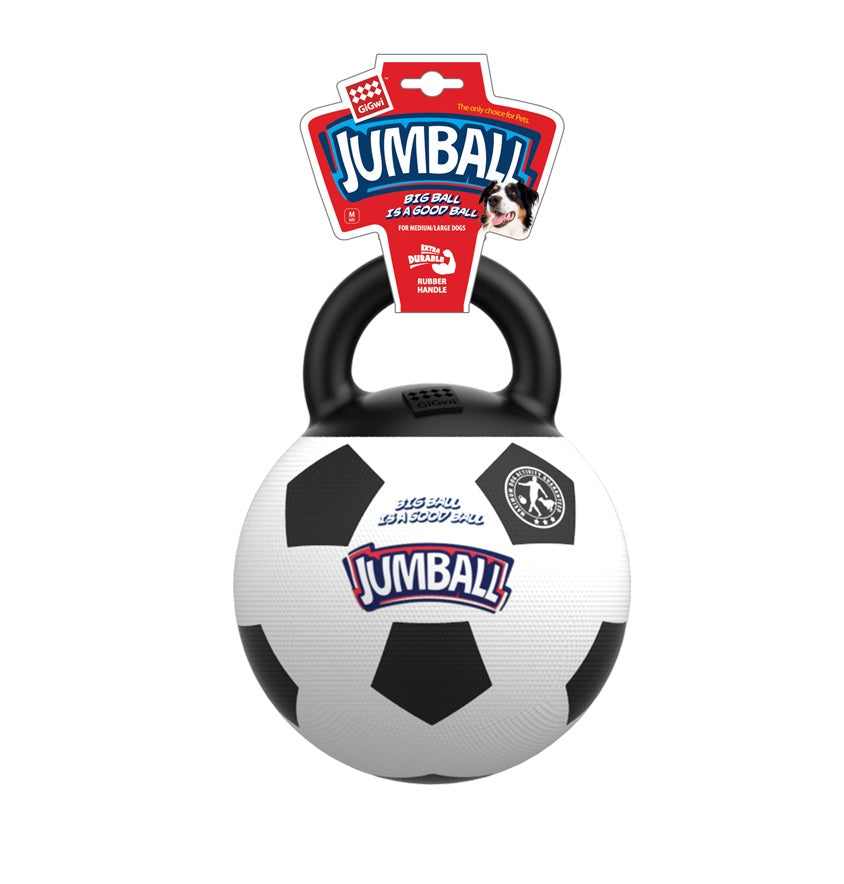 Gigwi Jumball Soccer Ball Dog Toy - pet-club-india