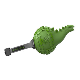 GiGWI Dinoball Apatosaurus 'Push to Mute Squeaky Dog Toy - pet-club-india