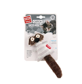 Gigwi Catch & Scratch Coon Catnip Cat Toy - pet-club-india