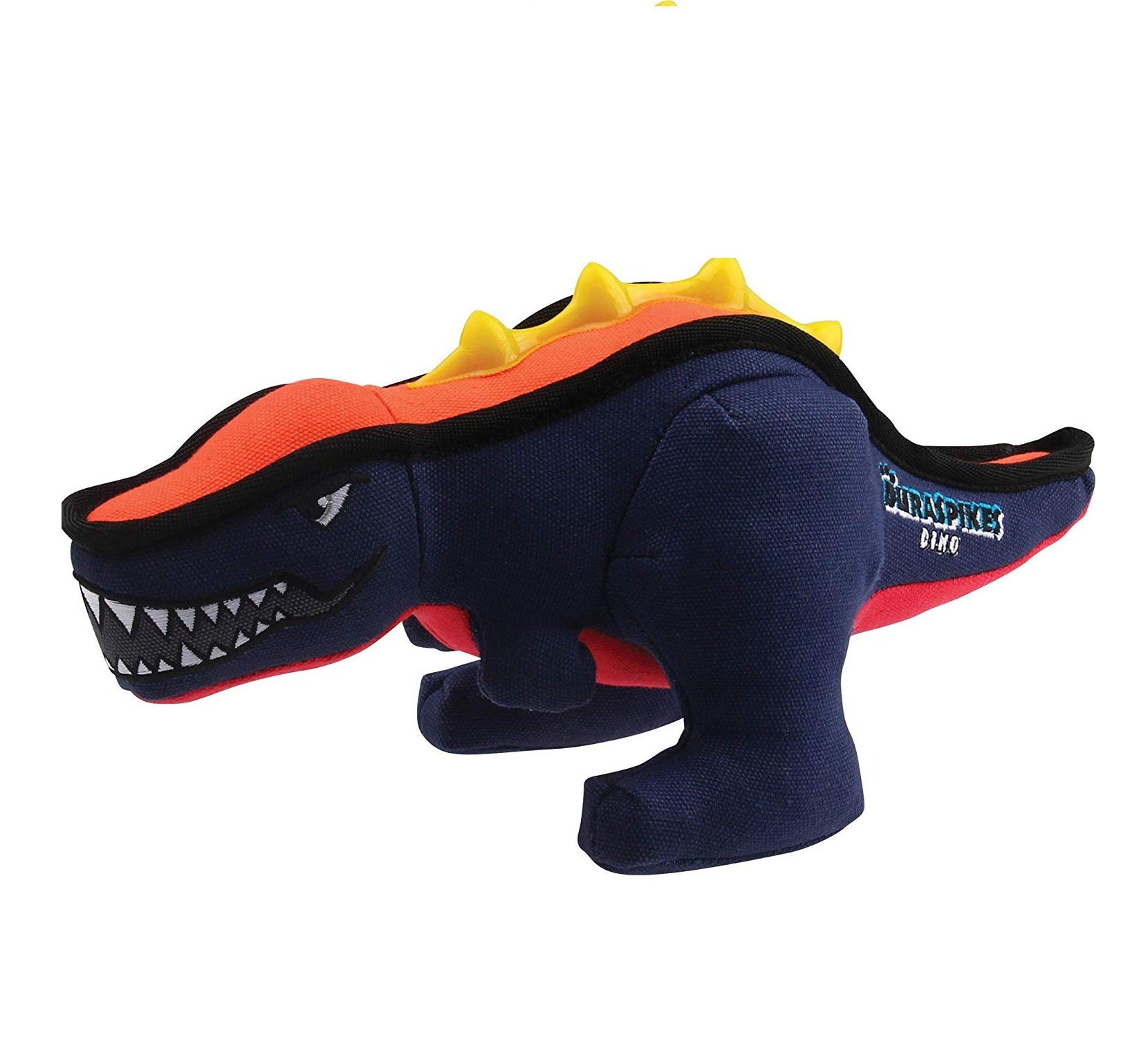 Gigwi Duraspikes Extra Durable Dinosaur Large Dog Toy - pet-club-india