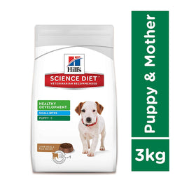 Hill's Science Diet Puppy Healthy Development Small Bites Lamb Meal & Rice Dog Food 3 Kg - pet-club-india