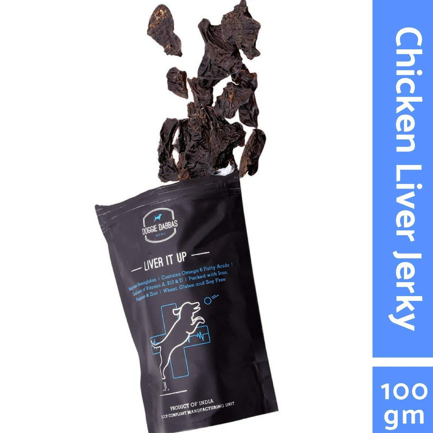 Doggie Dabbas Liver It Up Dog Treat 100Gm - pet-club-india