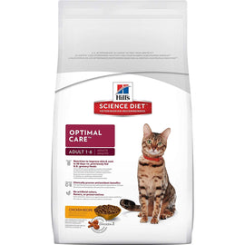 Hill's Science Diet Adult Optimal Care Chicken Recipe Cat Food 2 Kg - pet-club-india