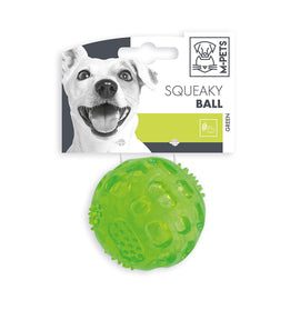 M-Pets Squeaky Ball Dog Toy (6.3 cm) - pet-club-india