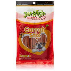 JerHigh Real Chicken Carrot Stix Dog Treat 100 g - pet-club-india