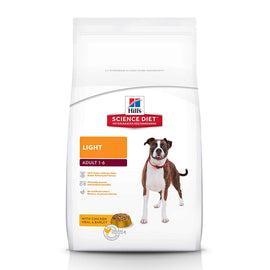 Hill's Science Diet Adult Light Chicken Meal & Barley Dog Food 3 Kg - pet-club-india