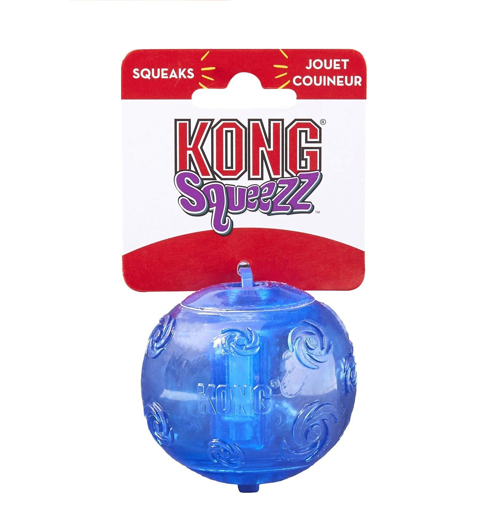 Kong Squeezz Ball Dog Toy - pet-club-india