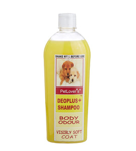 Pet Lovers Deoplus Dog Shampoo - pet-club-india