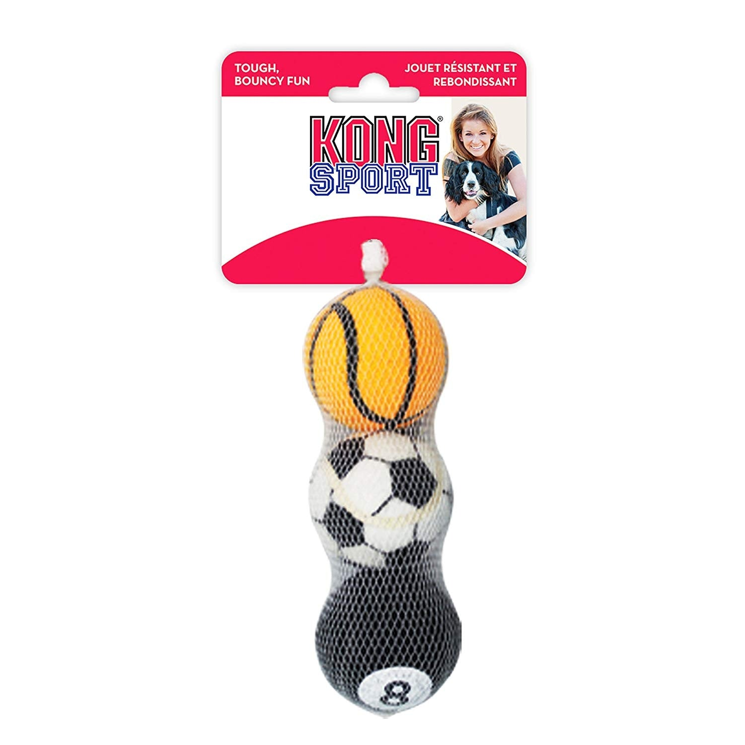 Kong Sport Balls Medium  Dog Toy - pet-club-india