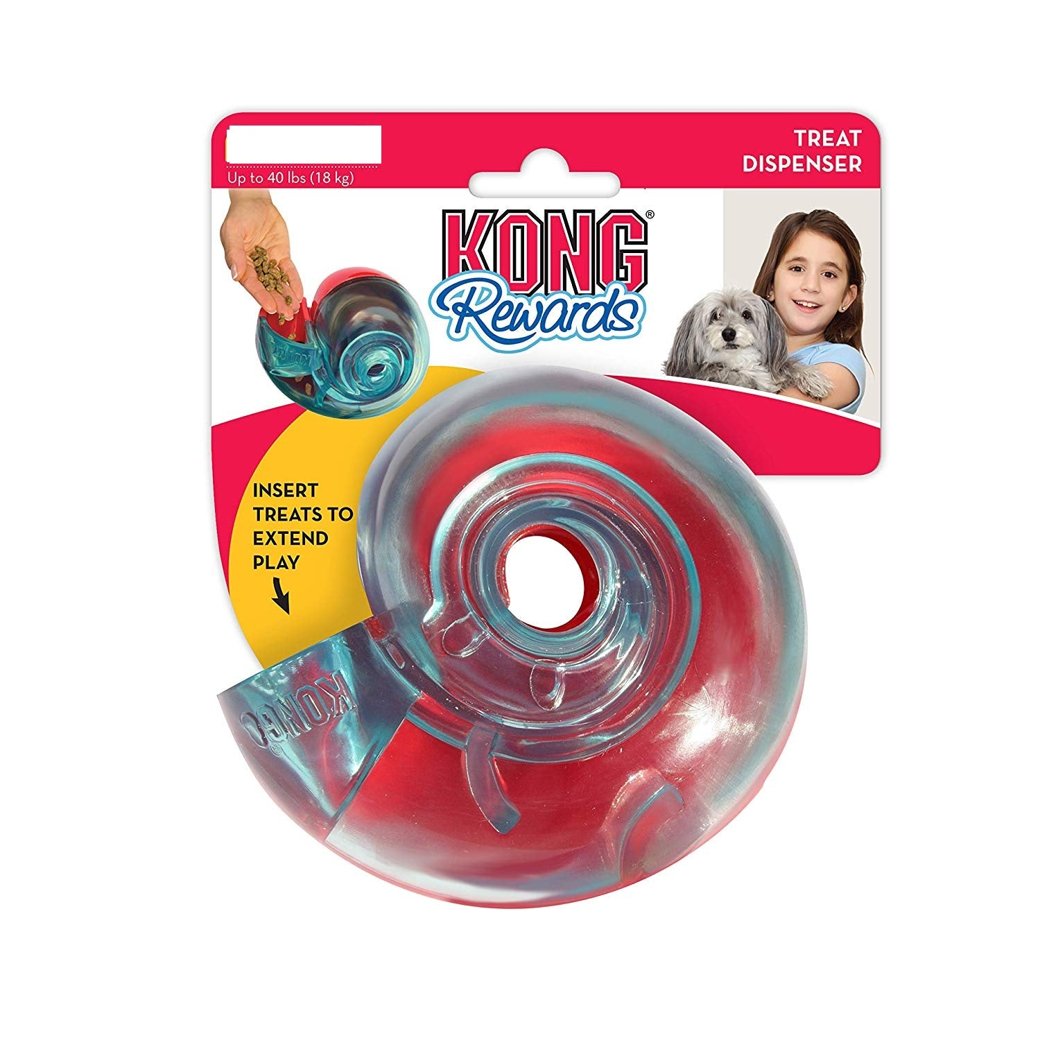 Kong Rewards Shells Treat Dispenser Dog Toy - pet-club-india