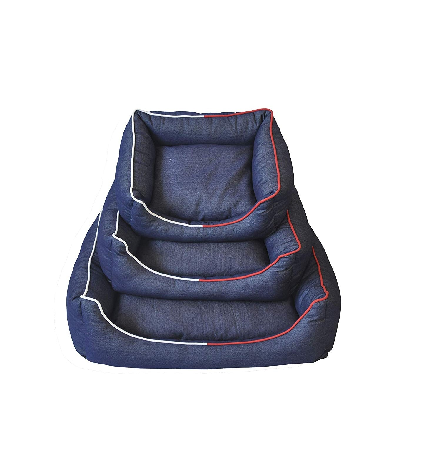 Goofy Tails Washable Denim Sofa Bed for Dogs & Cats - pet-club-india