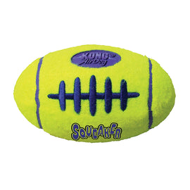 Kong Air Dog Squeaker Football Medium Dog Toy - pet-club-india