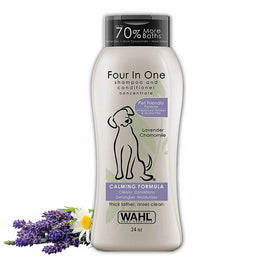 Wahl Four in One Lavender Chamomile Dog Shampoo,709ml - pet-club-india
