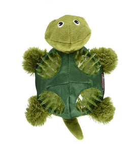 Kong Shells Turtle Squeaky Dog Toy - pet-club-india