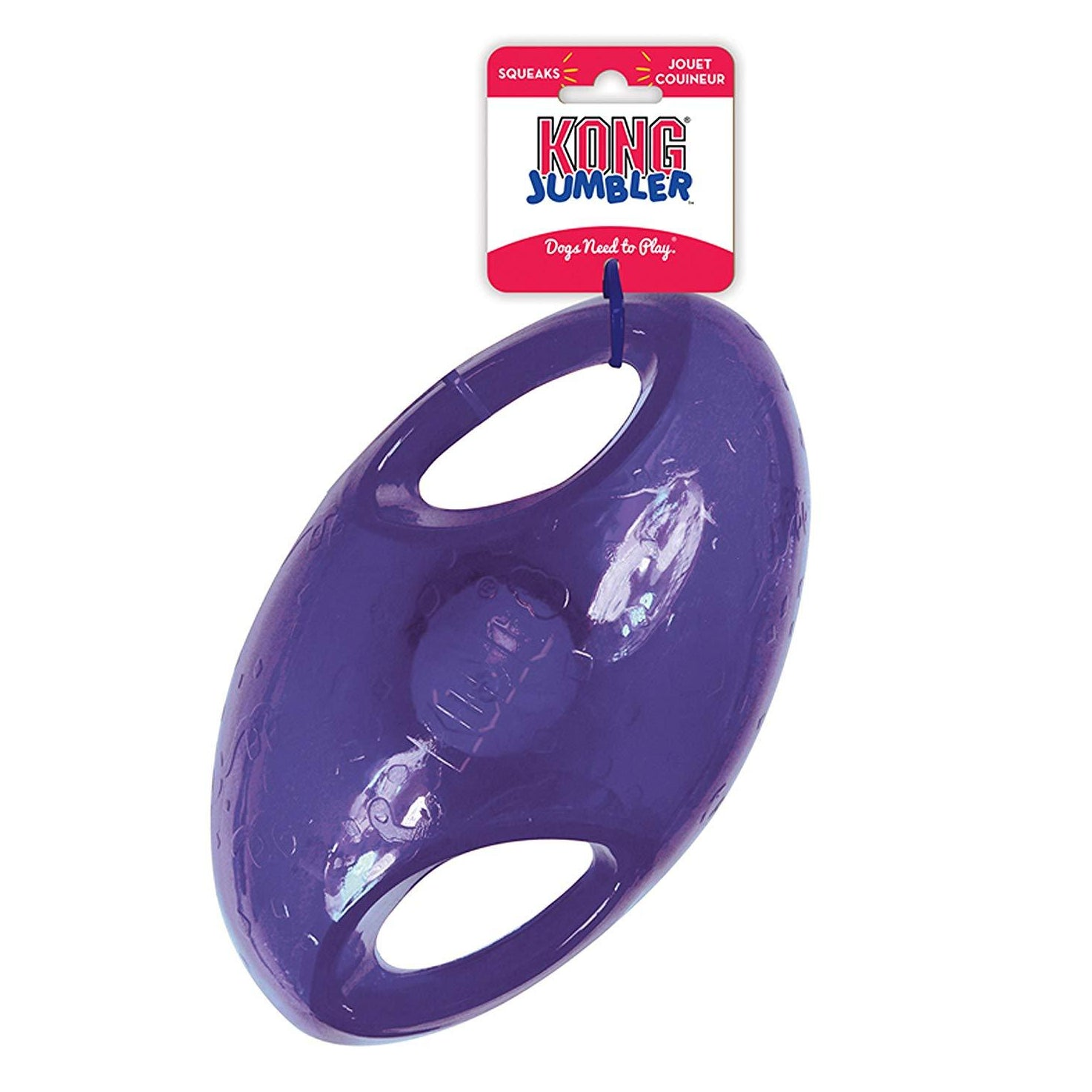 Kong Jumbler Football Medium/Large Dog Toy - pet-club-india