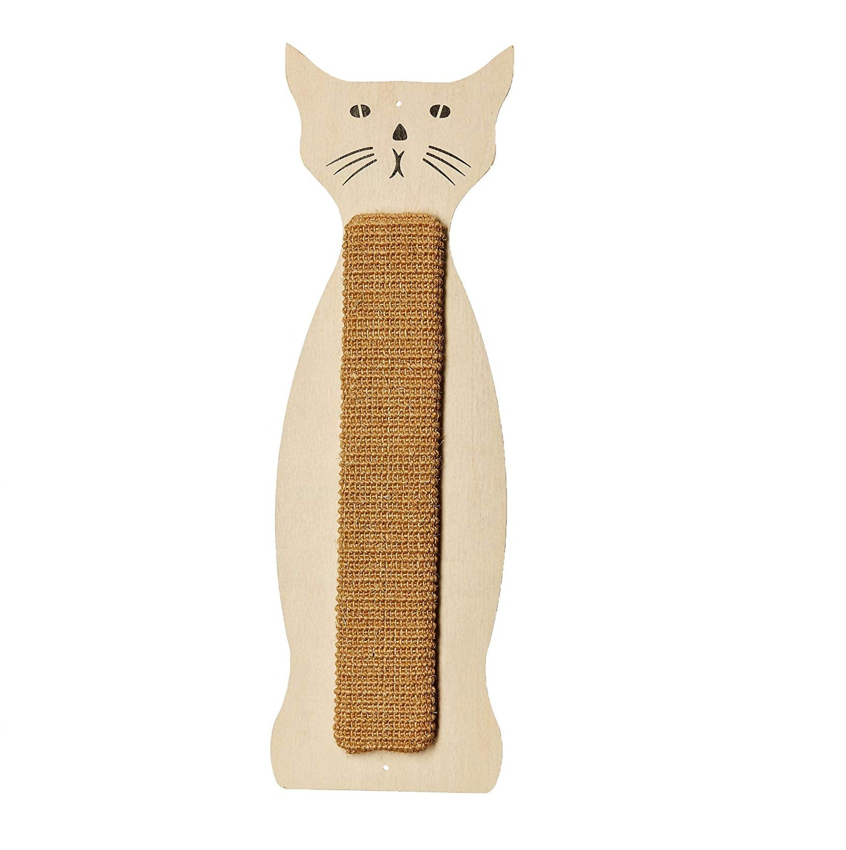Pet Set Go Cat Shape Sisal Scratching Boards Cat Toy - pet-club-india