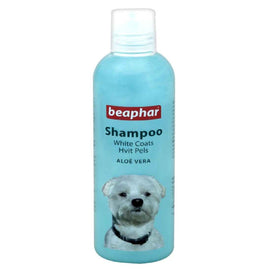 Beaphar Aloevera White Coat Dog Shampoo 250ml - pet-club-india