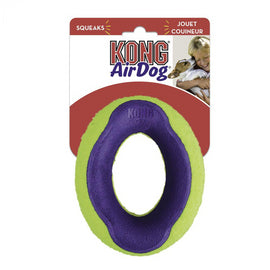 KONG Air Squeaker Oval Medium Dog Fetch Toy - pet-club-india