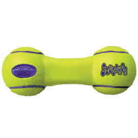 Kong Air Dog Squeaker Dumbbell Medium Dog Toy - pet-club-india