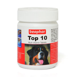 Beaphar Top-10 Multi-vitamin Dog Tablets - pet-club-india
