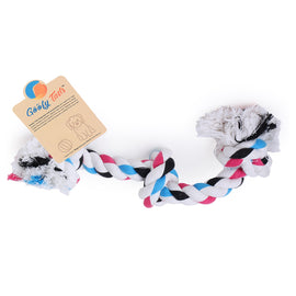 Goofy Tails Large 3 Knot Knotted Cotton Rope Tug Dog Toy - pet-club-india