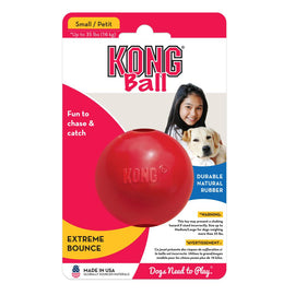 Kong Ball Rubber Dog Toys - pet-club-india