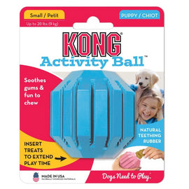 Kong Small Puppy Activity Ball Dog Toy - pet-club-india