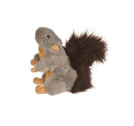 Goofy Tails Squeaky Plush Squirrel Dog Toy (10 Inch) - pet-club-india