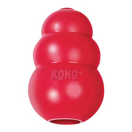 Kong Classic Rubber Treats Dispenser Dog Toy - pet-club-india