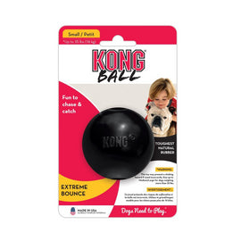 Kong Extreme Ball Small, Black - pet-club-india