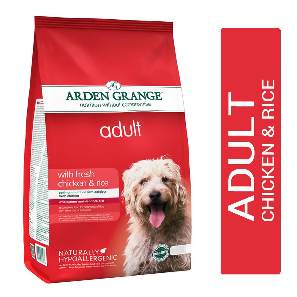 Arden Grange Fresh Chicken & Rice Adult Dog Food - pet-club-india