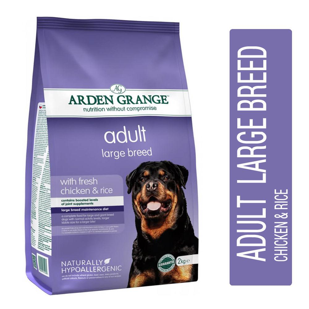 Arden Grange Large Breed Chicken & Rice Adult Dog Food - pet-club-india