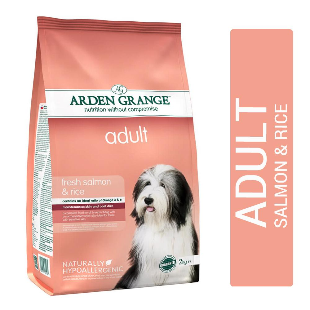 Arden Grange Salmon and Rice Adult Dog Food - pet-club-india